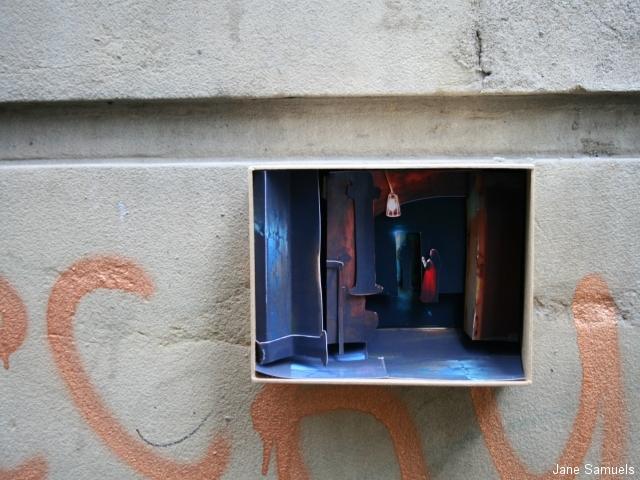 box-on-wall