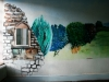thumbs painting Mid Wales Asylum