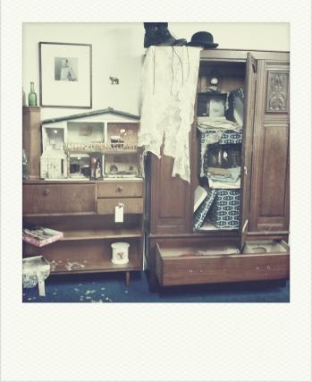 Wardrobe and Abandoned Dolls House