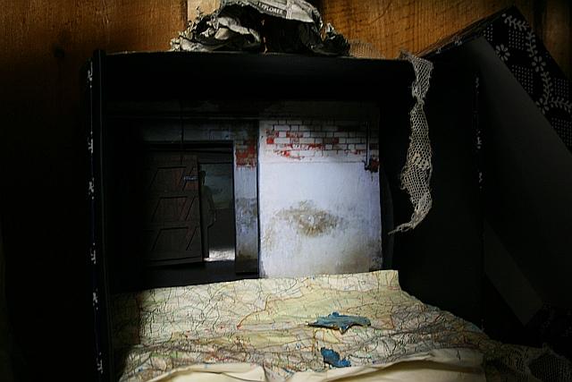 Inside the Wardrobe.
