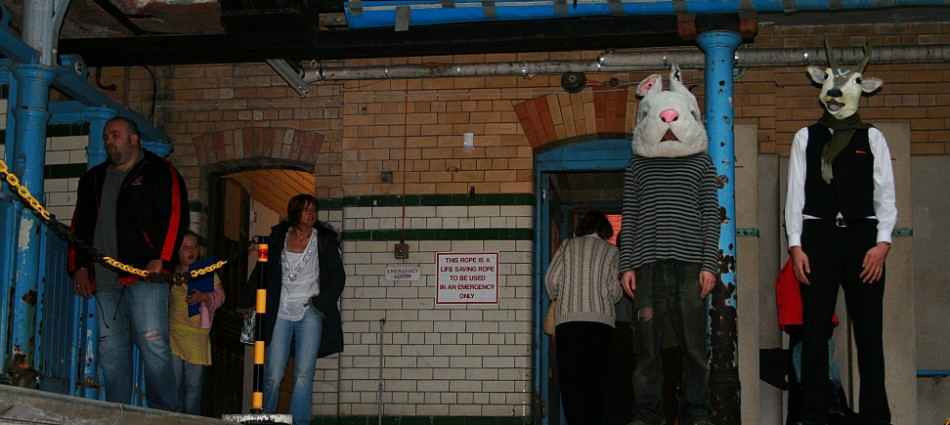 Public Intervention-Live. Victoria Baths. 2008